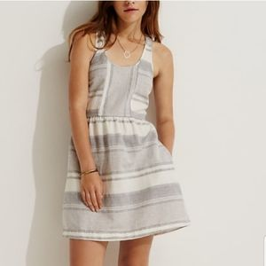 Lou & Grey | Linen Striped Racerback Dress